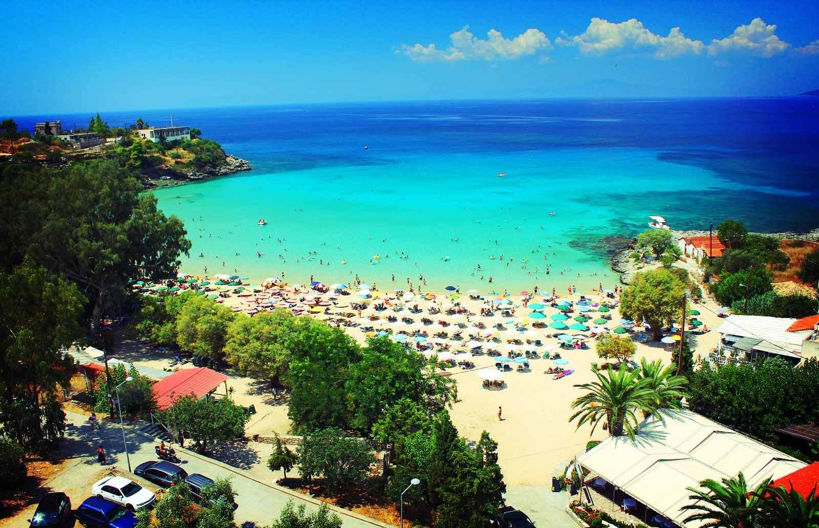 Stoupa Beaches In Peloponnese Peloponnese Tour