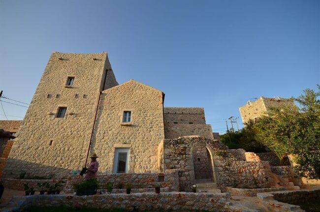 Antares Hotel Mani   Peloponnese Tour