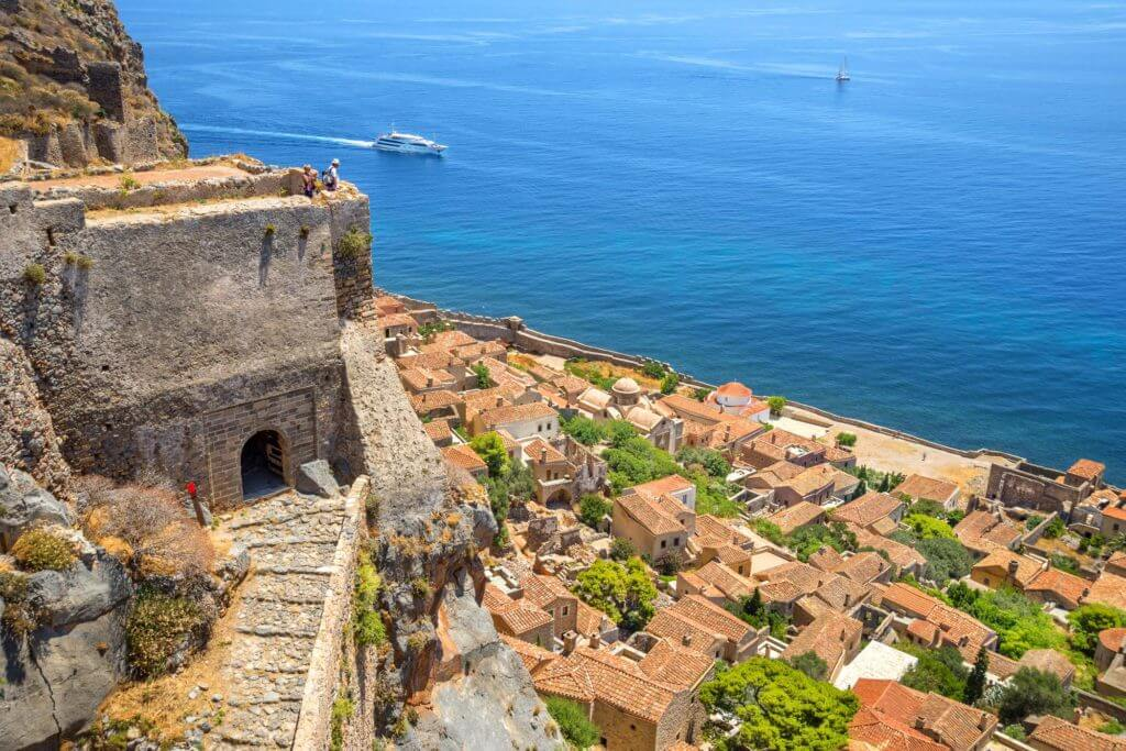 The Castle of Monemvasia